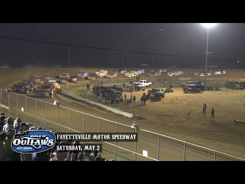Highlights: World of Outlaws Late Model Series Fayetteville Motor Speedway May 2nd, 2015