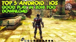 TOP 5 BEST GRAPHIC ANDROID / IOS RPG GAMES GOOD PLAY IN 2018 TOO BRO!!