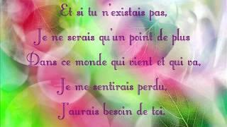 Joe Dassin - Et si tu n'existais pas + Paroles/ Lyrics