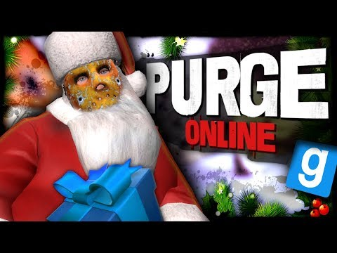 Purge Online | THE PRESENT LAUNCHER!!! (Garry's Mod Christmas Special)