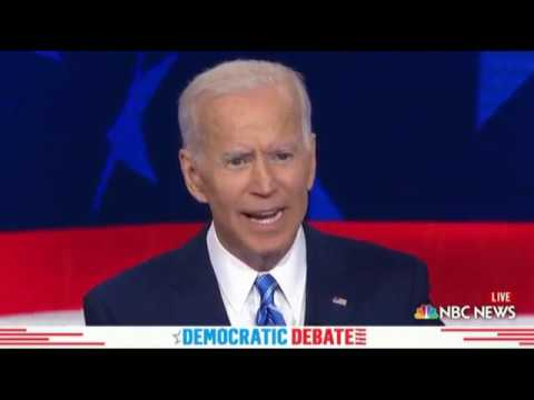 Bernie Clobbers Biden On Foreign Policy