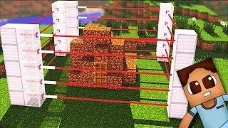 El Mejor Sistema De Seguridad Contra Las Turbas En Minecraft | Minecraft En Español