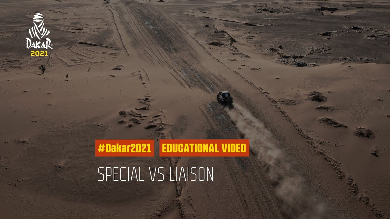 Dakar 2021 - Educational Video - Special vs Liaison
