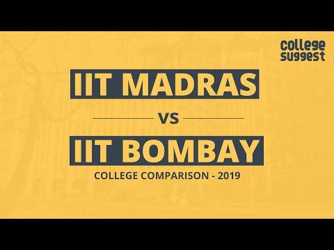 IIT Madras Vs IIT Bombay - Battle For The Best Engineering College In India - 2019