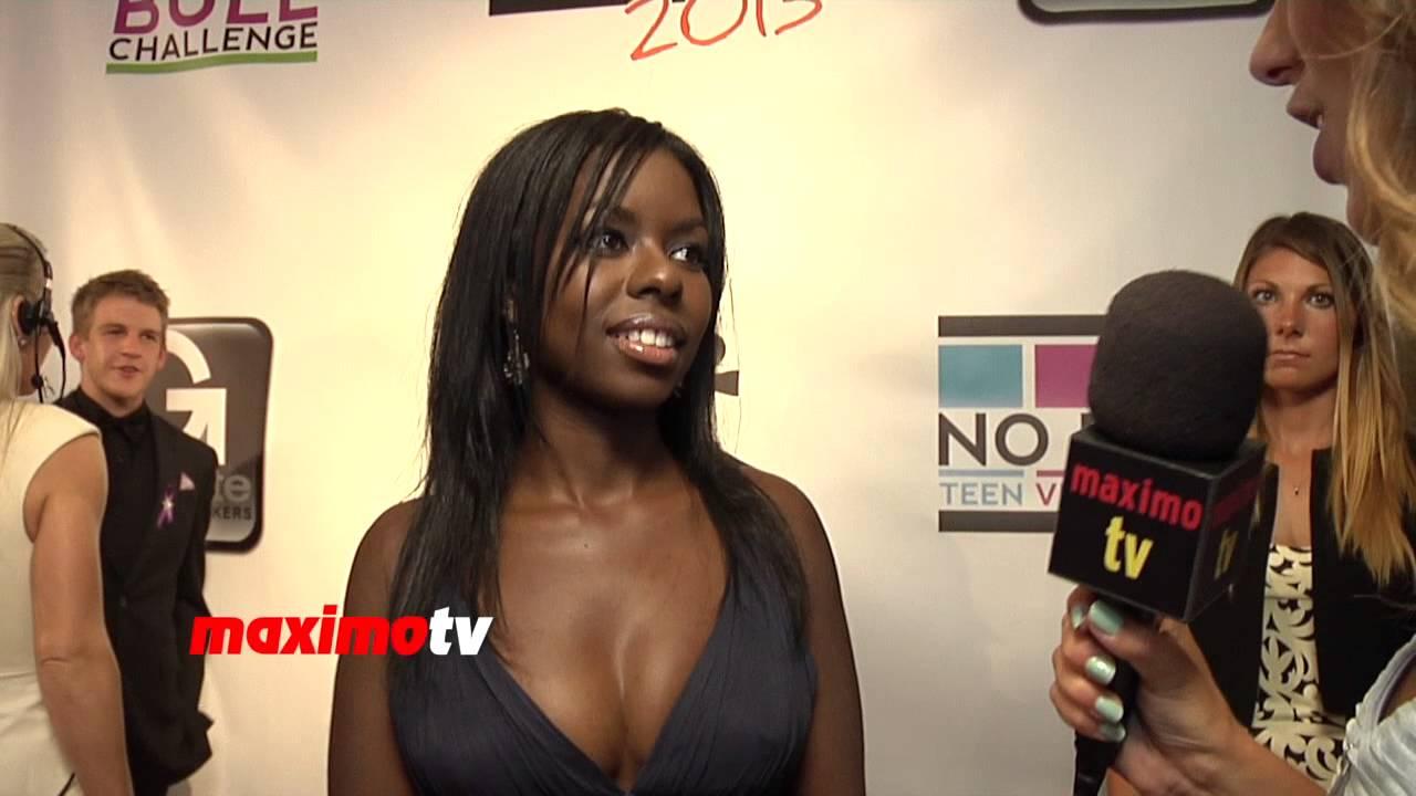 Camille Winbush Interview 2013 No Bull Teen Video Awards
