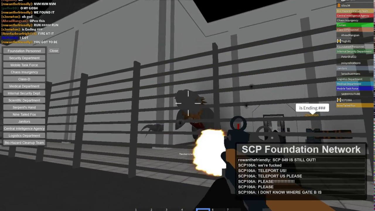 Roblox [SCP] Area-14 ROLEPLAY SCP-682 Rampage by Tibay Topia