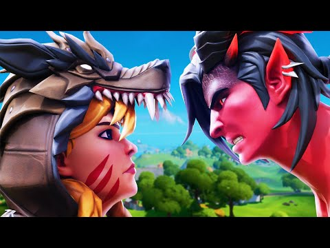 GRIM FABLE MARRIES THE DEVIL?! (A Fortnite Short Film)