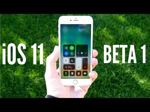 iOS 11 Beta 1 Review!