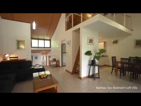 Two Bedroom Loft Villa - Kingfisher Bay Resort Fraser Island