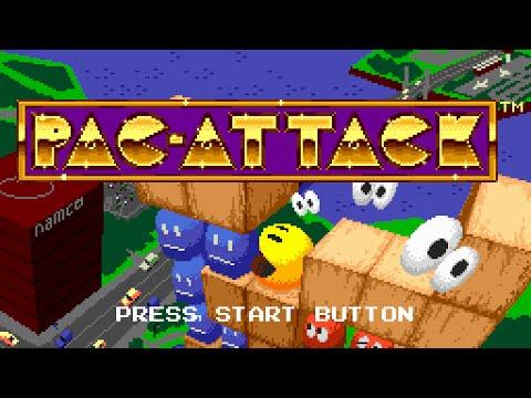 Pac-Attack (Sega Genesis) Full Walkthrough - All 100 Levels