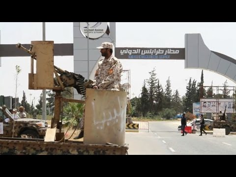 Libya unity forces take control of Tripoli airport