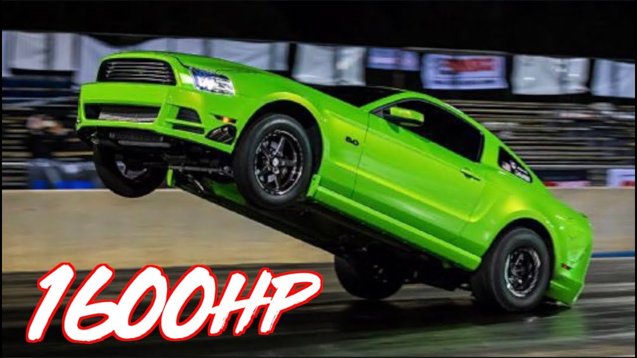 Watch This 2,000-HP Ford Mustang Decimate the Quarter-Mile in Seven