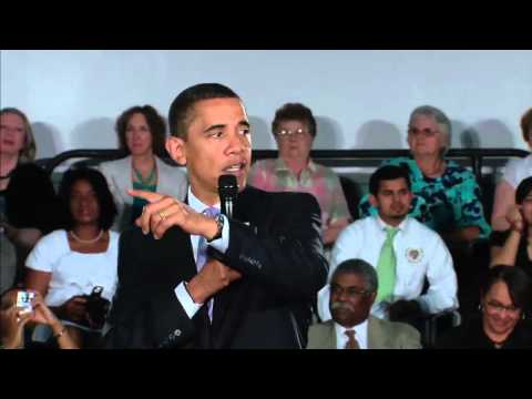 President Obama Holds Online Town Hall on Health Reform