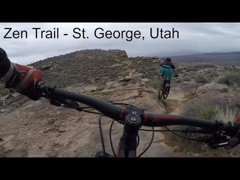 Mountain Biking Zen Trail in St. George, Utah