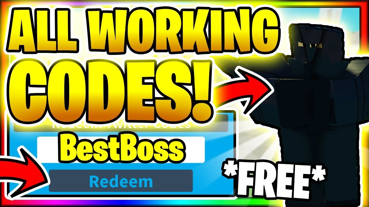 Boss Fighting Simulator Codes Roblox July 2020 Mejoress