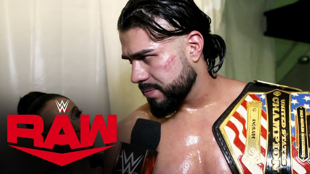 Andrade & Garza are ready for WrestleMania: Raw Exclusive, March 23, 2020