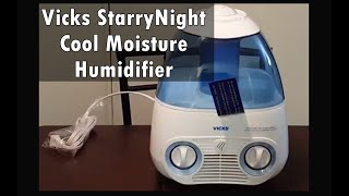 Vicks StarryNight Cool Moisture Humidifier