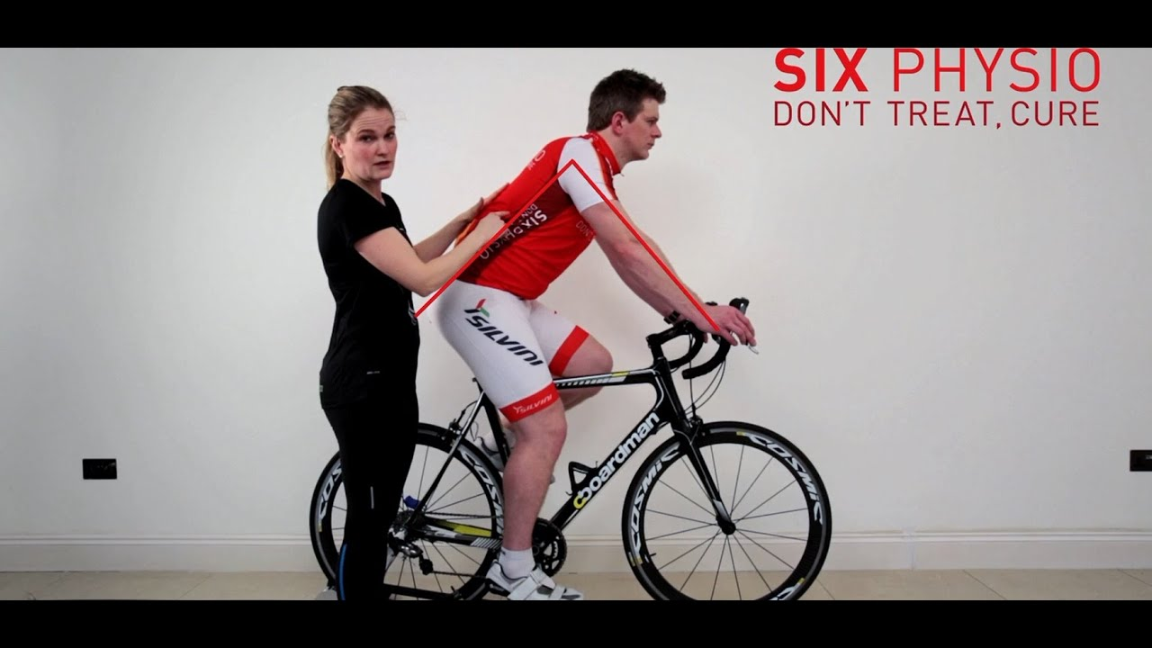 Bike Fit Correct Sitting Position On The Bike Youtube