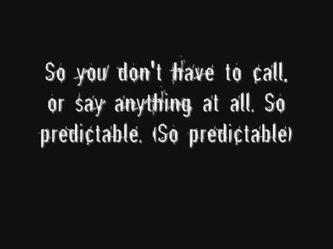 Predictable - Good Charlotte