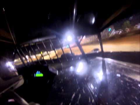 CIV Dirt Super Late Model Qualifying at Swainsboro Raceway 7-25-14