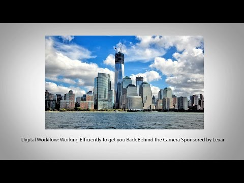 Digital Workflow: Working Efficiently to get you Back Behind the Camera
