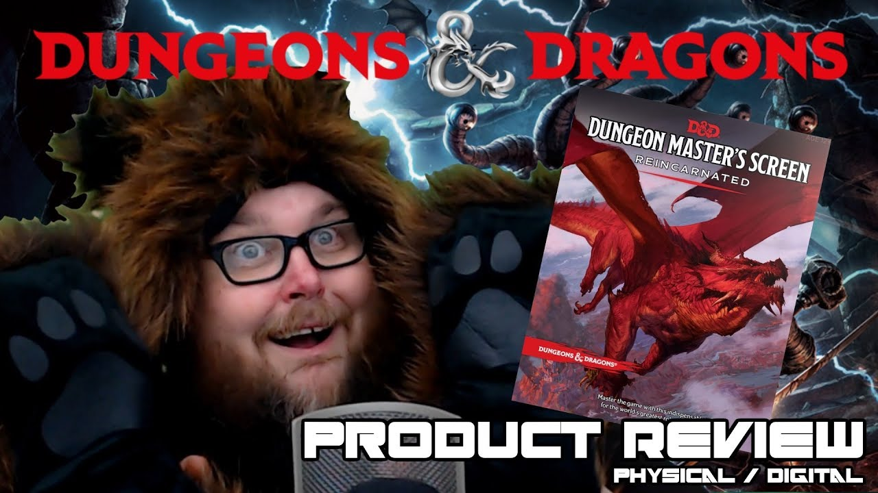 Dungeons & Dragons 5e | Dungeon Master Screen Reincarnated | Physical &  Digital Review