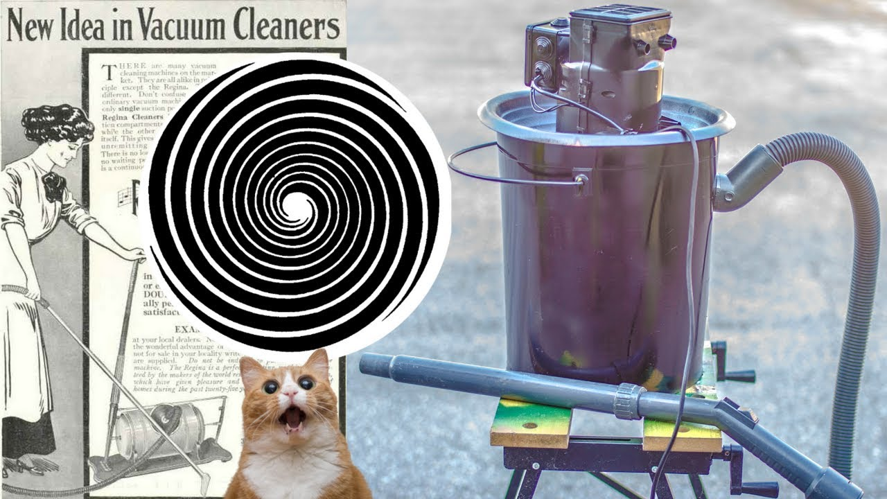 How To Transform The  Old Vacuum Cleaner  Into A High