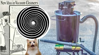 How to transform the (OLD Vacuum Cleaner) into a high capacity Industrial vacuum cleaner