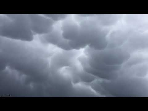 Rain clouds hover over Santa Rosa