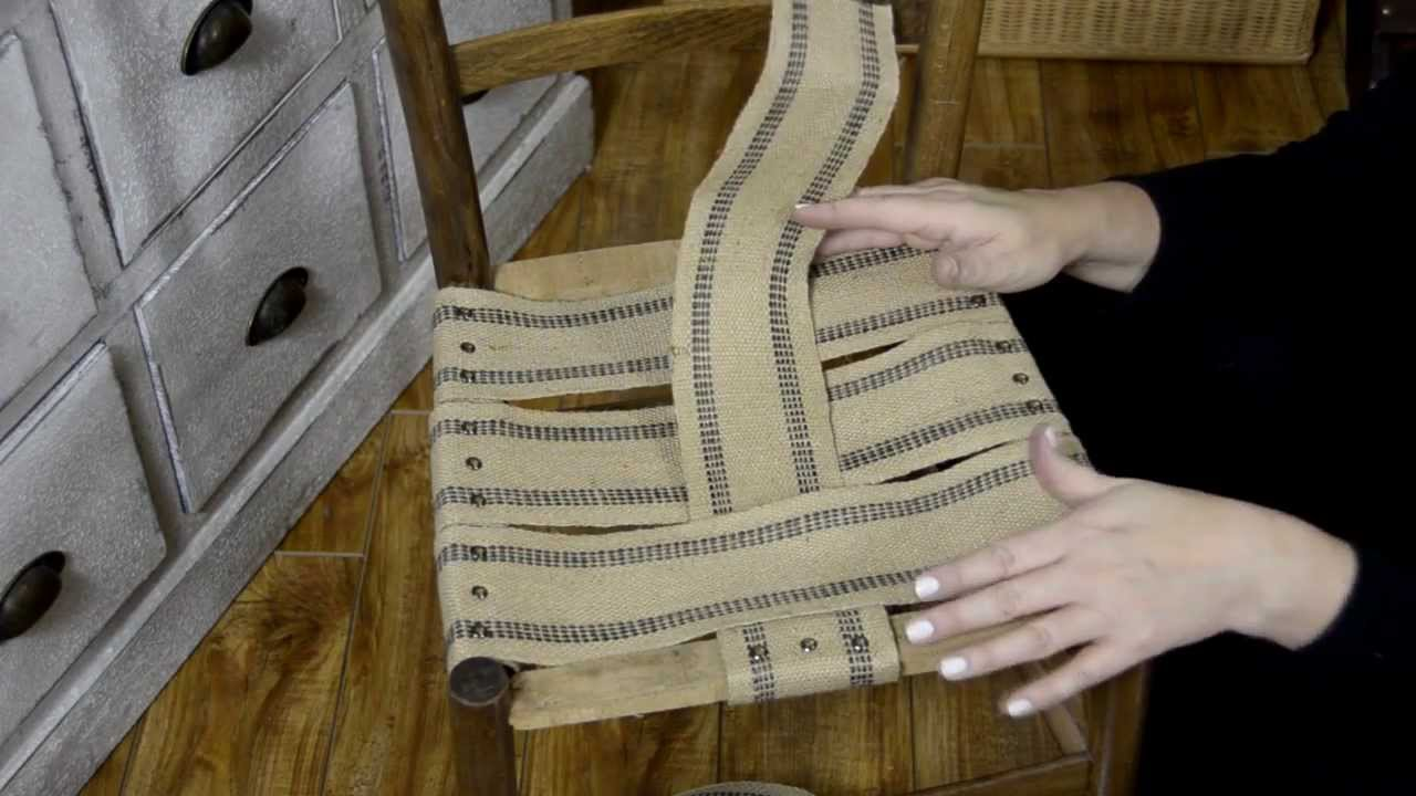 Diy antique furniture restoration - Diy How To Restore And Restrap An Antique Chair