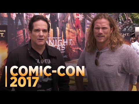 MIDNIGHT, TEXAS: Yul Vasquez and Jason Lewis at Comic-Con 2017