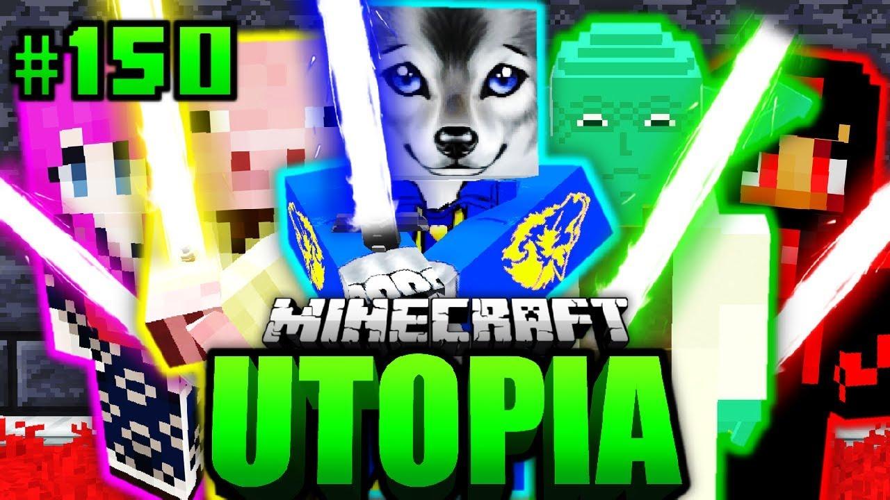 Der ORDEN Ist VEREINT Minecraft Utopia DeutschHD - Minecraft utopia spielen