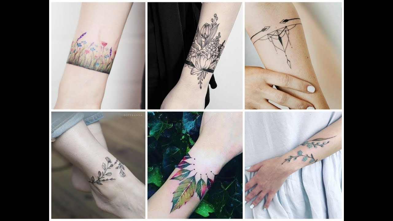 50 Awesome Bracelet Tattoo Design Ideas For Womens Youtube