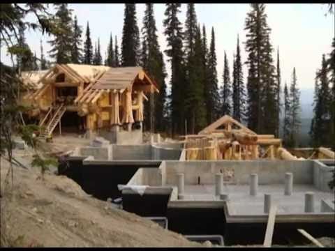 pioneer log homes fire trump. Black Bedroom Furniture Sets. Home Design Ideas