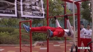 HongKong Street Workout Road Tour TSW 香港街頭極限健身巡迴表演天水圍站