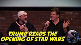Trump Reads the Opening of Star Wars