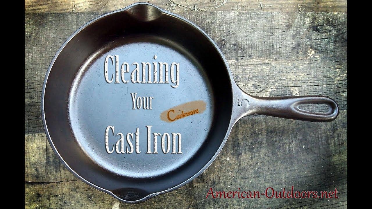 Restoring Cast Iron Using Electrolysis