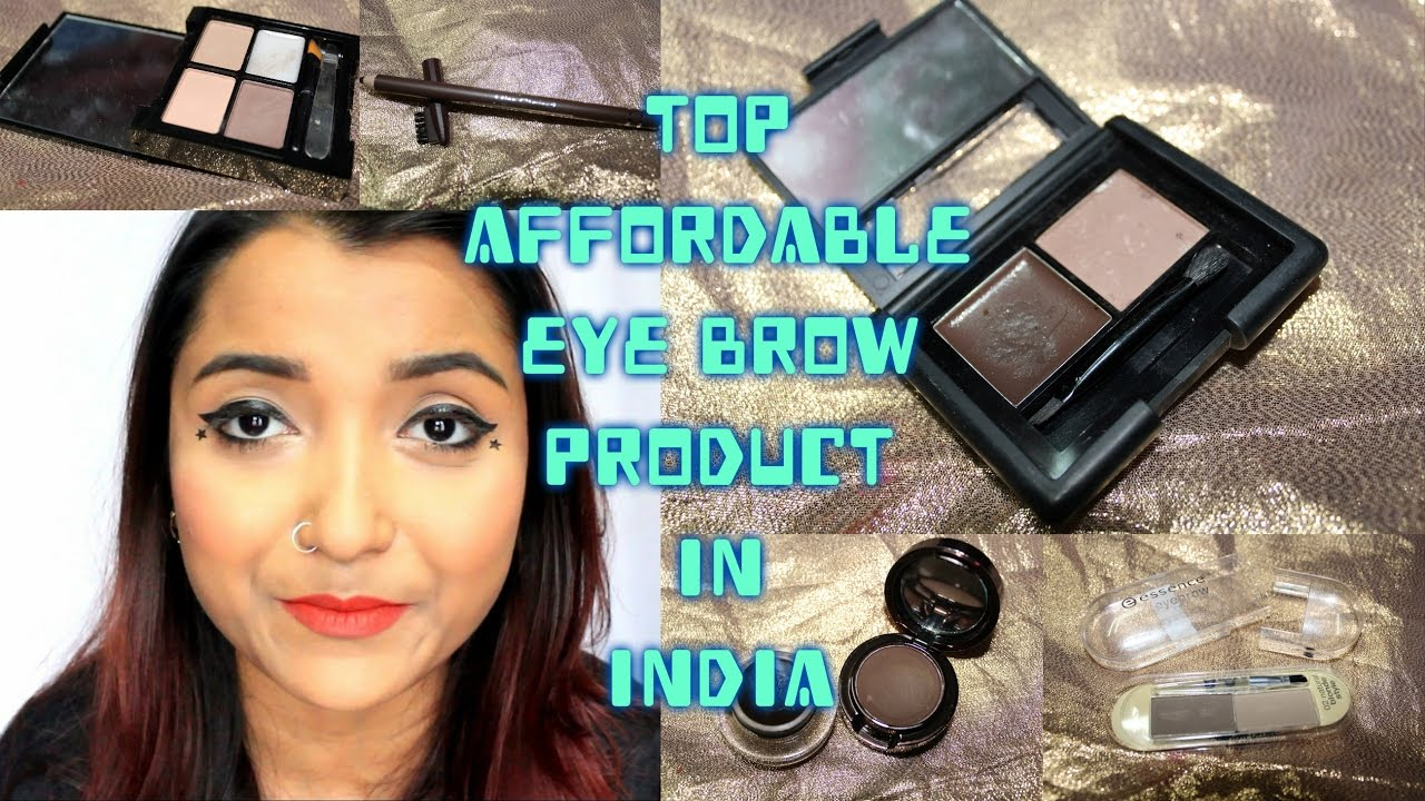 Top Affordable Brow Product In India Affordable Eyebrow Kit Eye