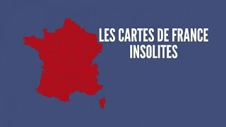 Top des cartes de France les plus insolites (Topito TV)