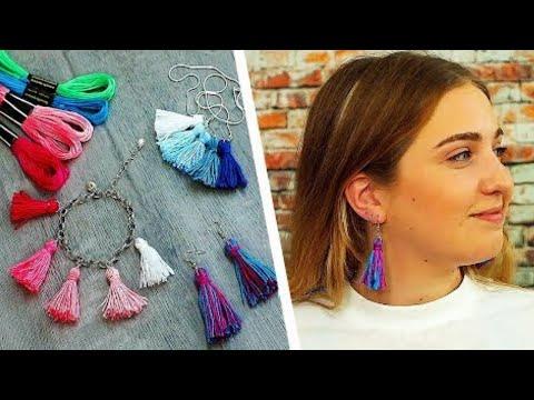 3 DIY Tassel Craft Ideas | Cool DIY Jewelry Ideas | Easy Party Decor | Craft Factory