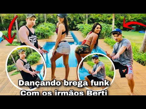 Dançando Brega Funk Com Os //irmãos Berti