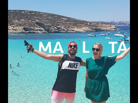 Vlog 3 -  BEST  BEACH I HAVE BEEN TO SO FAR!  - Malta -  احسن بحر مشيت ليه
