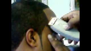 "Bigen ""Black Out"" Caesar Haircut Dye Job Part 2 of 2 Revisited"