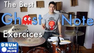 The Best Ghost Note Exercises - Beginner Drum Lesson | Drum Beats Online