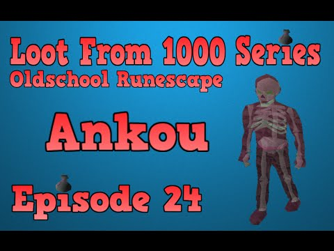 Oldschool Runescape - Loot From 1000 Series - Episode 24 [Ankou]