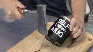 What's inside a Self Stirring Mug?