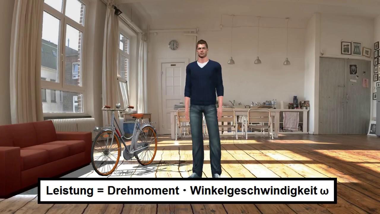 drehmoment 4 leistung und drehmoment beim fahrrad youtube. Black Bedroom Furniture Sets. Home Design Ideas