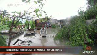 Typhoon Glenda hits Metro Manila, parts of Luzon