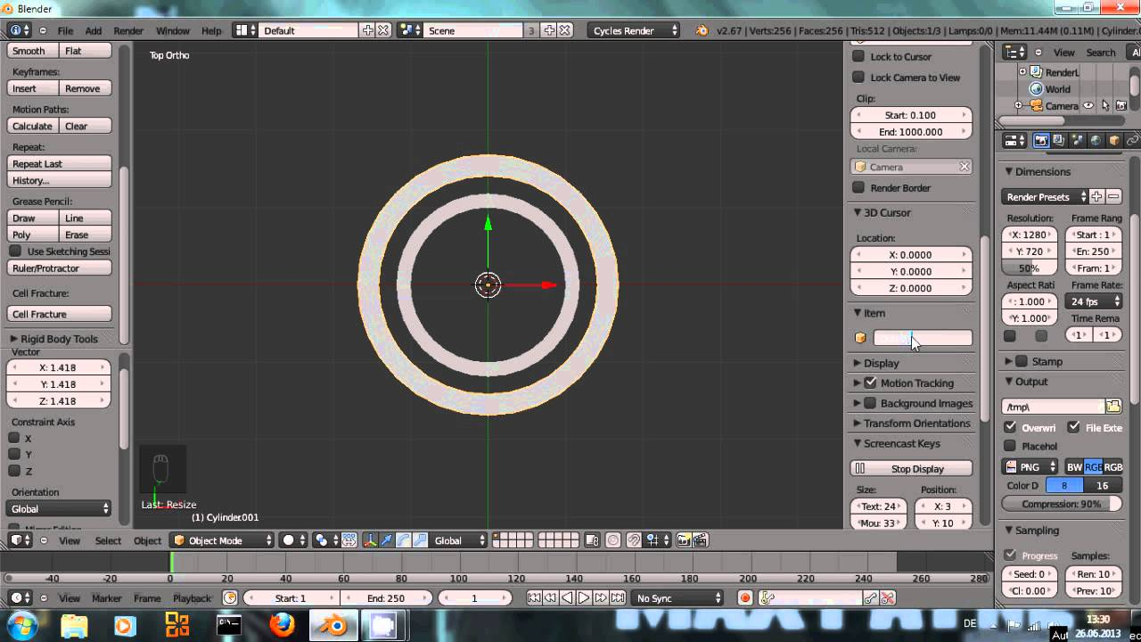 How To Rotate Objects In Blender