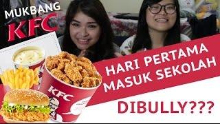 KFC Wings Bucket    먹방 MUKBANG Indonesia   Story time : Hari Pertama Masuk Sekolah   Eating Show   Two Piggy